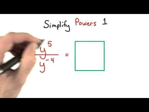 Simplify Exponents 1 - Visualizing Algebra thumbnail