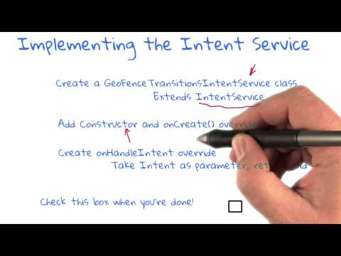 Implementing The Intent Service thumbnail