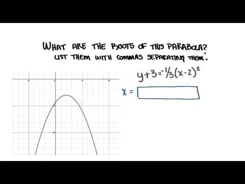 Roots of the Parabola - College Algebra thumbnail