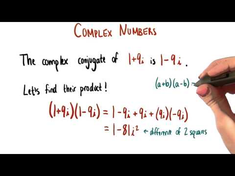 Product of Complex Conjugates - College Algebra thumbnail