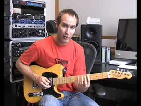 Blues Lead Guitar:The Blues Scale #9of20 (Guitar Lesson BL-019) How to play thumbnail