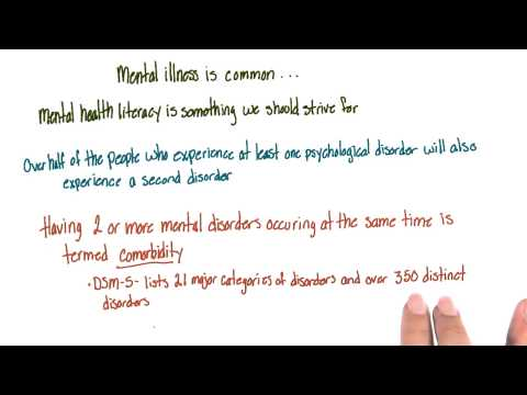 Prevalence of mental illness - Intro to Psychology thumbnail