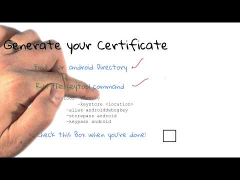 02-04 Generate Your Certificate thumbnail