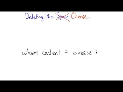 03-21 Deleting the Cheese thumbnail