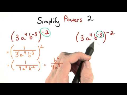 Simplify Exponents Part 2 - Visualizing Algebra thumbnail