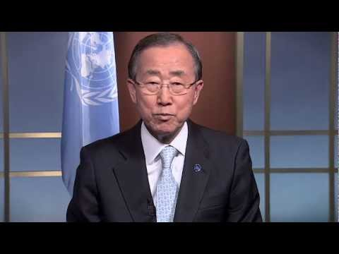 UN Secretary-General Ban Ki-moon: World Humanitarian Day 2012 -- I WAS HERE thumbnail