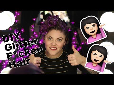 DIY Glitter Victory Rolls, Corinne vs Beauty #2 thumbnail