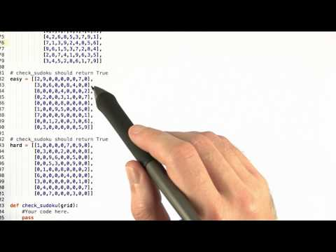 cs258 hw3 01 q Sudoku Checker thumbnail