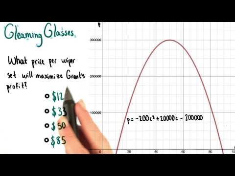 Maximizing Profit - College Algebra thumbnail