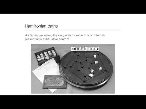 Computation in Complex Systems: Easy & Hard : Hamiltonian Paths Solution thumbnail