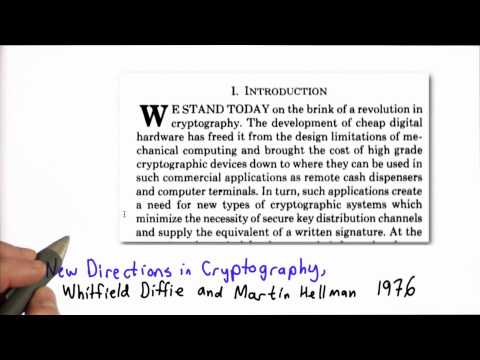 Diffie Hellman - Applied Cryptography thumbnail