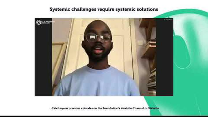 Systemic challenges require systemic solutions