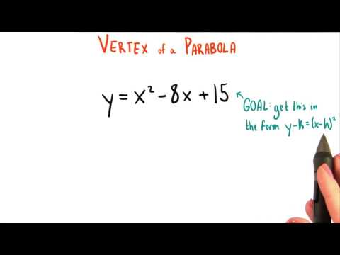 Moving away from Standard Form - College Algebra thumbnail