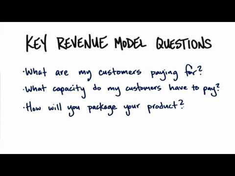 01x-19 Key Revenue Model Questions thumbnail