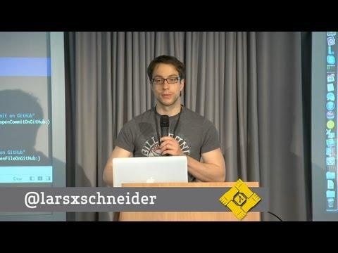Git Merge • ShowInGitHub XCode Plugin (Lars Schneider) thumbnail