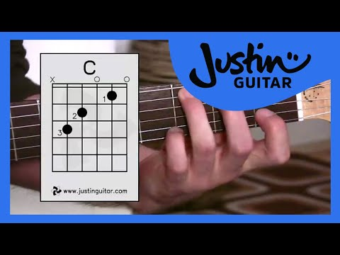 The C Chord (Guitar Lesson BC-132) Guitar for beginners Stage 3  thumbnail