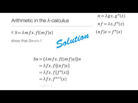 Computation in Complex Systems : Computation Everywhere : λ Calculus Solution1 thumbnail
