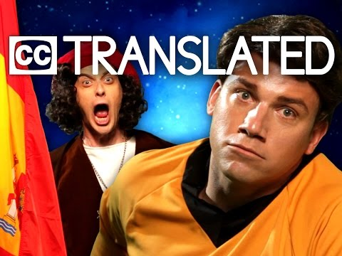[TRANSLATED] Captain Kirk vs Christopher Columbus. Epic Rap Battles of History. [CC] thumbnail