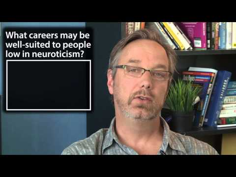 Jobs for low neuroticism - Intro to Psychology thumbnail
