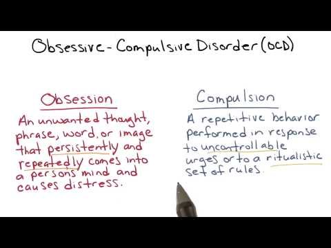 Obsessive-compulsive disorder - Intro to Psychology thumbnail