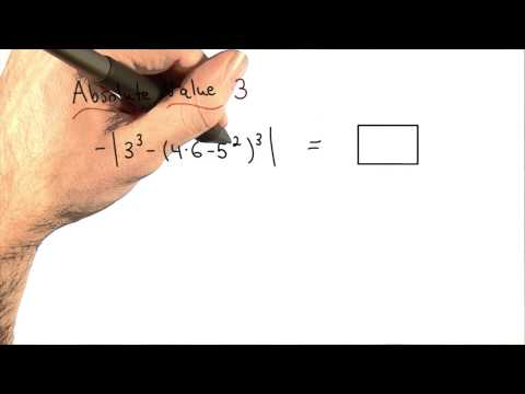 Absolute Value Practice 3 - Visualizing Algebra thumbnail