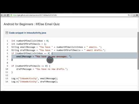 13-16 Conditional Code (Email) - Solution thumbnail