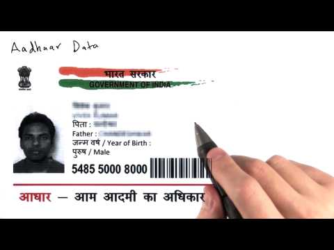 Aadhaar Data - Intro to Data Science thumbnail