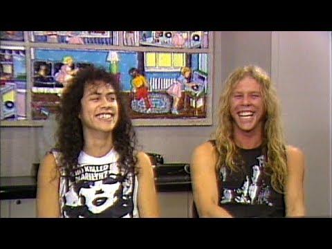 Metallica - MTV News Interviews (1986) [ReMaster Of Puppets DVD] thumbnail