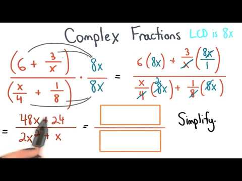 Simplify Complex Fractions - Visualizing Algebra thumbnail