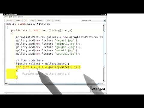 Array Algorithms Max and Min - Intro to Java Programming thumbnail