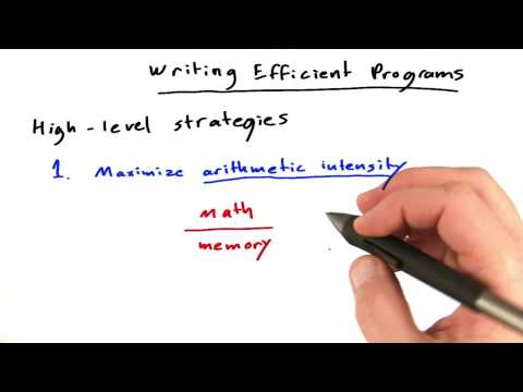 Writing Efficient Programs - Intro to Parallel Programming thumbnail