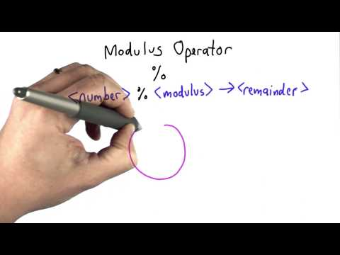 Modulus Operator - Intro to Computer Science thumbnail