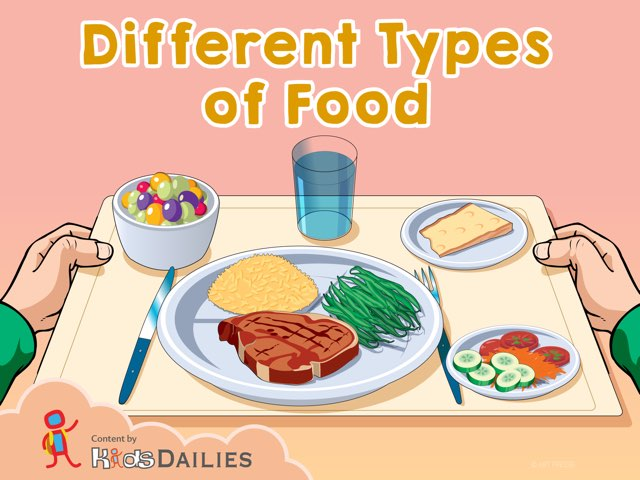 Types of food thumbnail