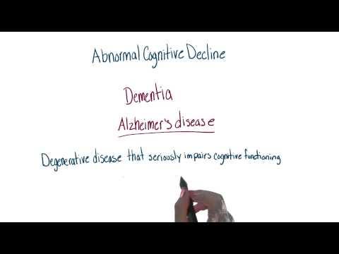 Abnormal cognitive decline thumbnail