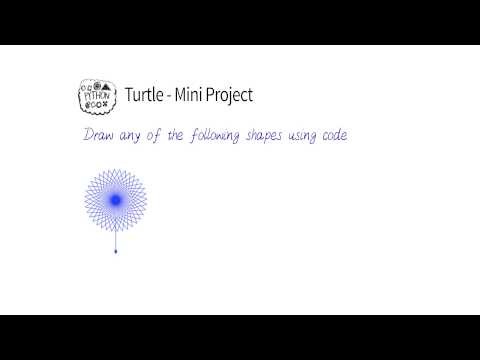 Turtle Mini-Project - Programming Foundations with Python thumbnail
