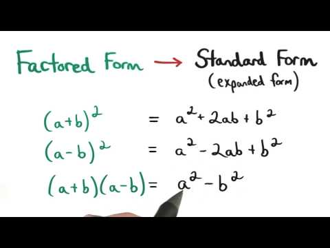 Factored Form - Visualizing Algebra thumbnail