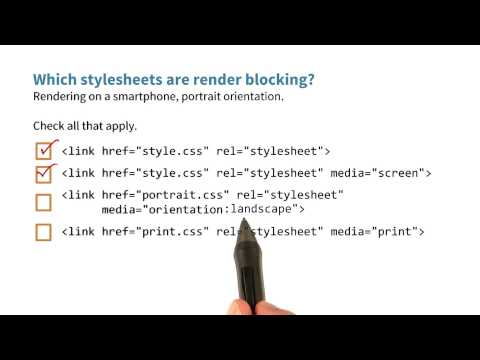 03-06 Which stylesheets are render blocking? thumbnail