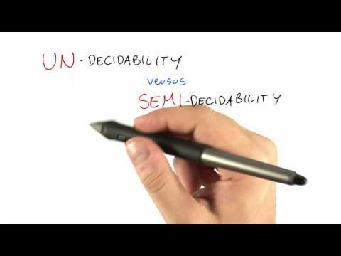 21-17 Undecidability Vs Semi-decidability thumbnail