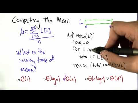 Mean Solution - Intro to Algorithms thumbnail