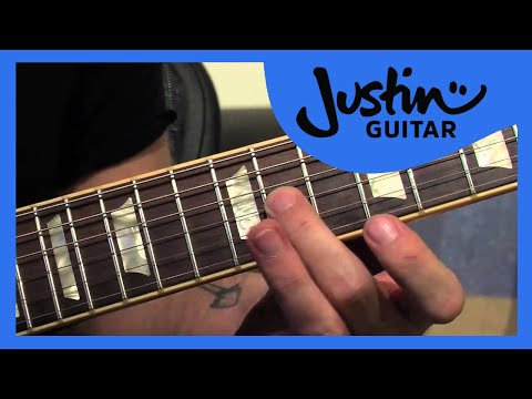 Lick #3: Bent 3rd Chromatic (Guitar Lesson LK-003) How to play thumbnail