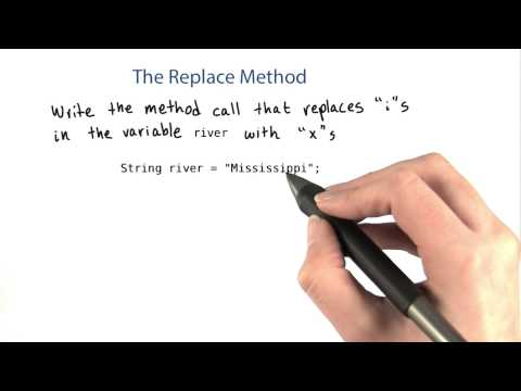 The replace Method - Intro to Java Programming thumbnail