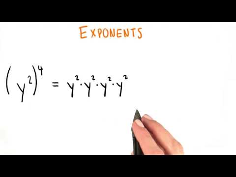Practice Exponents - College Algebra thumbnail