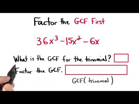 Factor the GCF First - Visualizing Algebra thumbnail