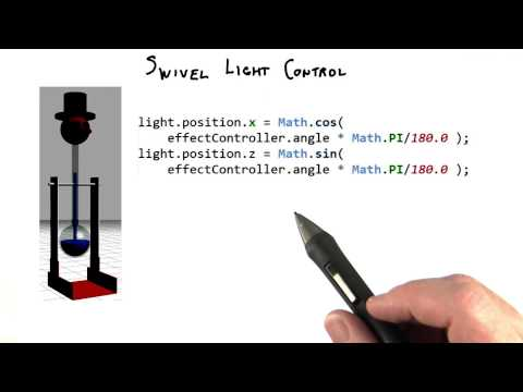 Swivel Light Control - Interactive 3D Graphics thumbnail