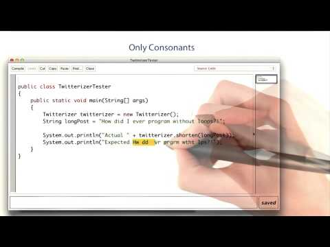 Only Consonants - Intro to Java Programming thumbnail