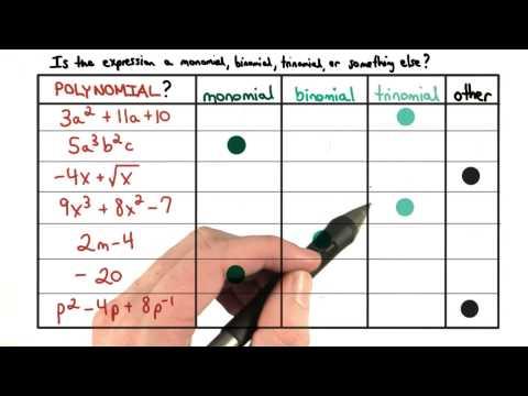 Monomial Binomial Trinomial - Visualizing Algebra thumbnail