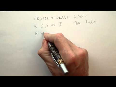 07-02 Propositional Logic thumbnail