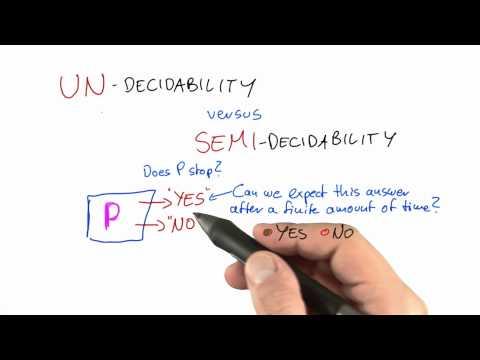 21-18 Undecidability Vs Semi-decidability thumbnail