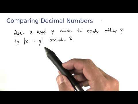 Comparing Decimals - Intro to Java Programming thumbnail