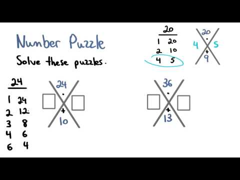 Number Puzzle - Visualizing Algebra thumbnail